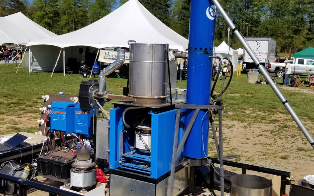 """Combined Energy Technology team attended the """"Mother Earth News Fair"""" in Asheville, NC, USA."""